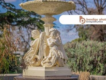 Canterbury Park Fountain - Bendigo Stock Photos