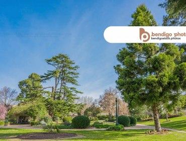 Canterbury Park - Bendigo Stock Photos
