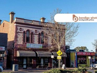 old building eaglehawk - Bendigo Stock Photos