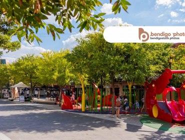 Town Center - Bendigo Stock Photos