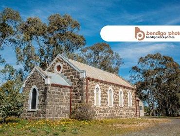 Uniting Church - Axedale Stock Photos