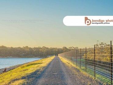 Crusoe Reservoir, Kangaroo Flat - Bendigo Stock Photos