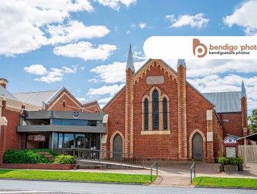 Eaglehawk Uniting Church - Bendigo Stock Photos