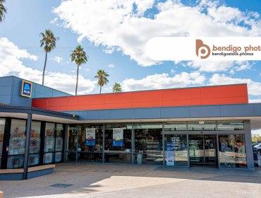 ALDI Epsom - Bendigo Stock Photos