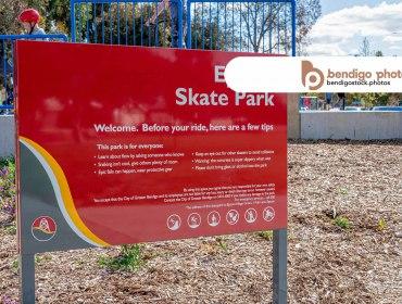 Epsom Skate Park - Bendigo Stock Photos
