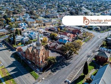 Bendigo Presbyterian Church - Bendigo Stock Photos