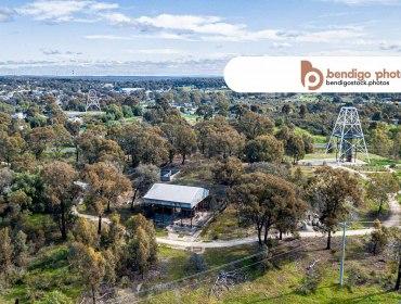 Victoria Hill Diggings H.a. - Bendigo Stock Photos