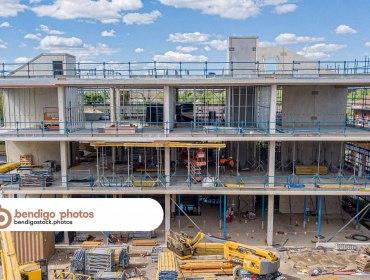 Bendigo TAFE New Buildings - Bendigo Stock Photos