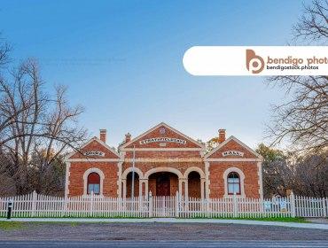 Strathfieldsaye Shire Hall - Bendigo Stock Photos