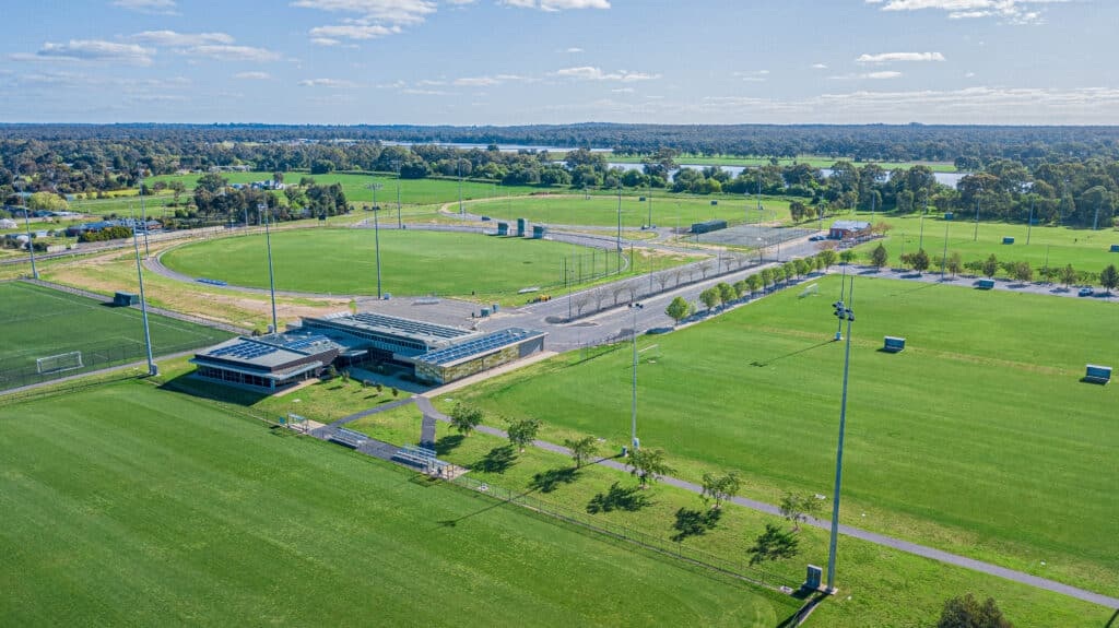 Epsom Huntly Recreation Reserve Sports Ovals Stock Image Photos of Bendigo