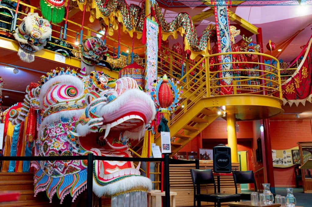 inside Chinese museum