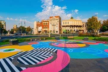 Bendigo Street Artwork